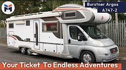 Burstner Argos A747-2 Motorhome Review  - WeBuyAnyMotorcaravan.com