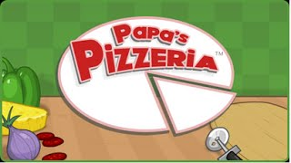 PAPA'S PIZZERIA - Day 11 - Day 12