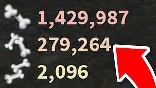 I got 1,429,987 Breaks with the INFINITE BREAKS ABILITY! *ON LEADERBORD* (Roblox Broken Bones)