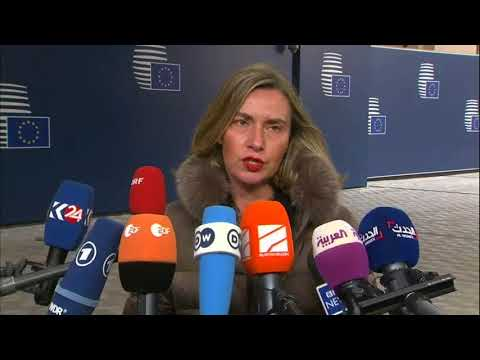 #Russia: 'What is clear is our full solidarity with the United Kingdom' Mogherini