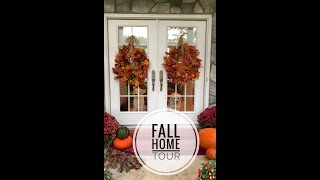 Fall Home Tour || Home Tour || Fall Decor