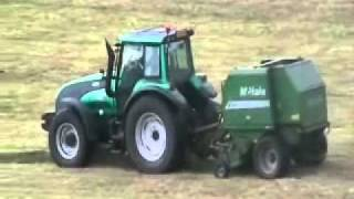 Valtra and McHale F550