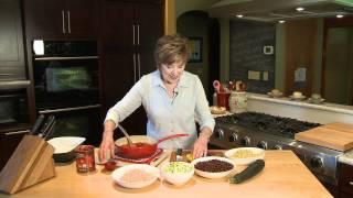 South West Style Zucchini & Black Bean Bake - Lakeland Cooks!