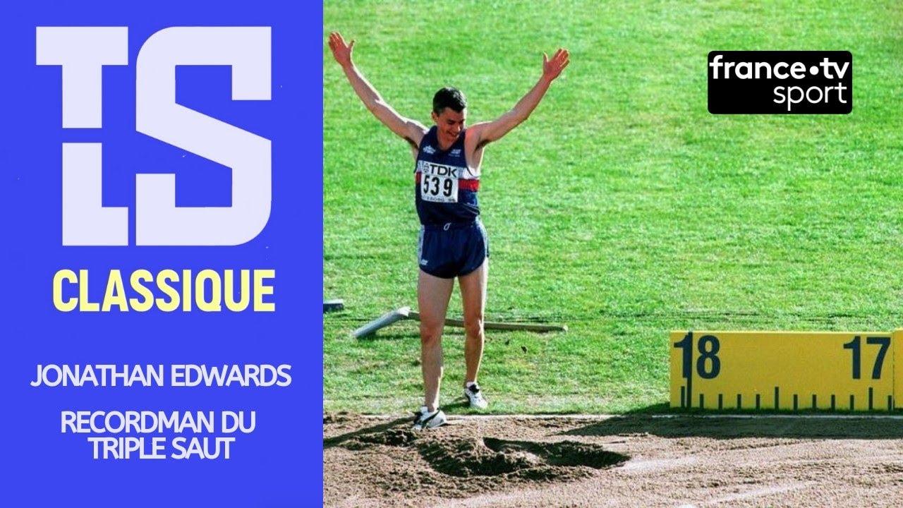 🏃 Jonathan Edwards, recordman du triple saut