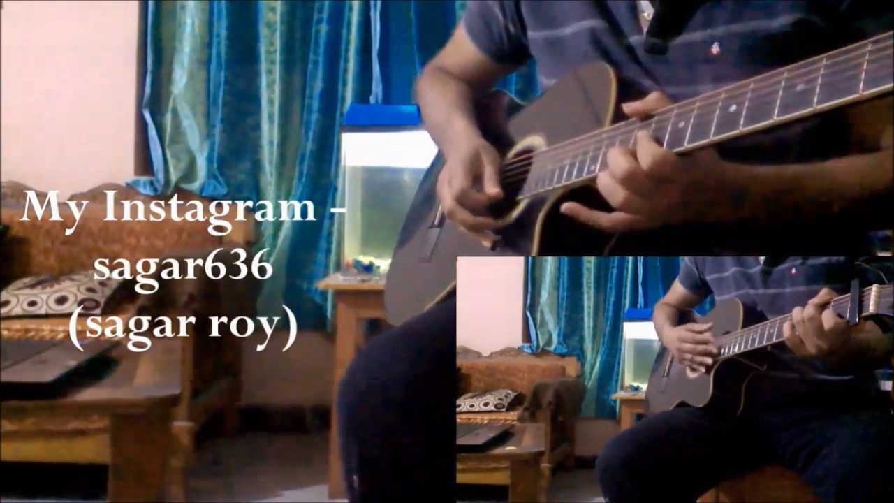 Lag Ja Gale Guitar Chords Lesson Guitar Cover Youtube