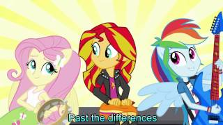 Better than ever [With Lyrics] - My Little Pony Equestria Girls Rainbow Rocks Song
