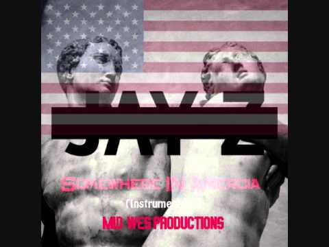 Jay-Z - Somewhere In America (Instrumental) w/DOWNLOAD By Mid-Wes of Genius Klub