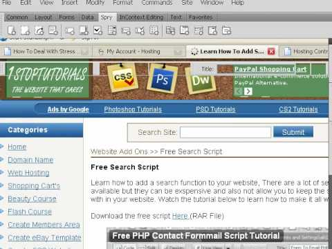 How To Add A Search To Website Part 1