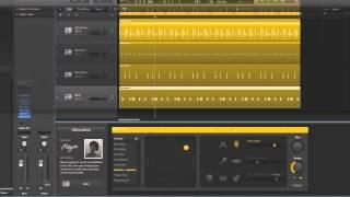 Logic Pro X Electronic Drummer tracks tutorial 8/10