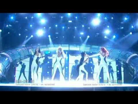 "Love Generation ""Dance alone"" (Live Melodifestivalen 2011)"