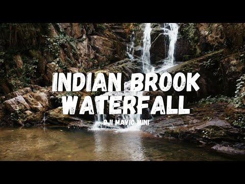 Indian Brook Waterfall   DJI Mavic Mini