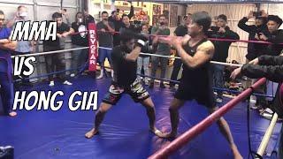 Baixar Big Kung Fu Fighter vs Small MMA Fighter - Khai Tran vs Nam Phan