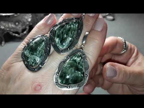 126. Серебряные украшения с натуральными камнями💖💎👌