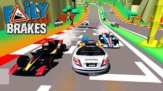 Отказали тормоза #34 Faily Brakes ГОНКИ детский летсплей ВИДЕО про машинки VIDEO FOR KIDS cars game