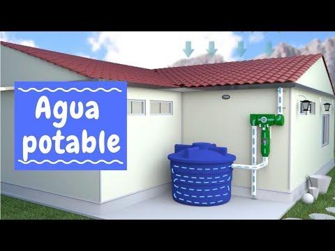Convierte agua de lluvia en agua potable