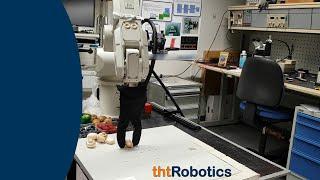 Adaptive Robotic Gripper. Grasping Mushrooms