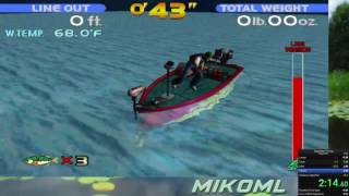 Sega Bass Fishing (Former WR) Speedrun Any% 2:22.750