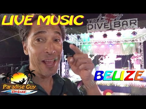 Colorado Music Festival from The Dive Bar - Ambergris Caye, Belize - Paradise Guy