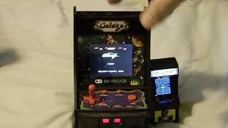 Review: Gaming Micro Player Galaga VS Tiny Arcade Pacman
