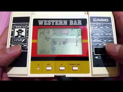 Vintage Casio Western Bar game play