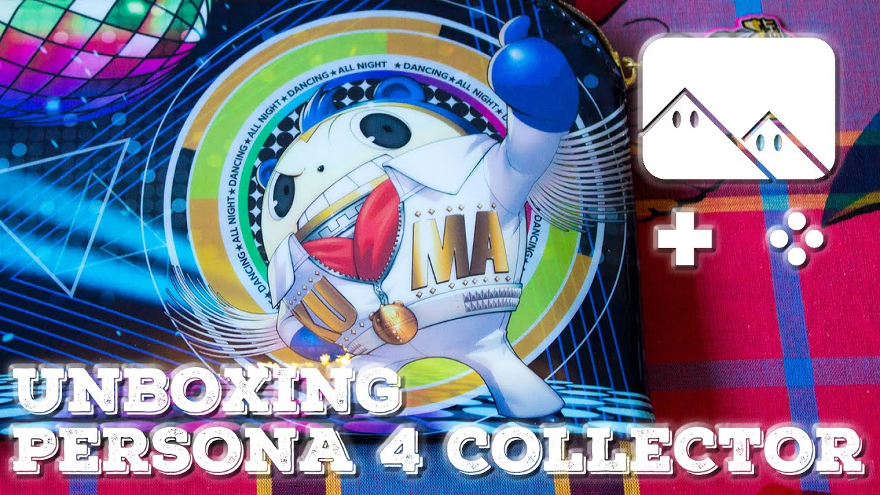 Unboxing Persona 4 Dancing All Night Edition Collector Disco