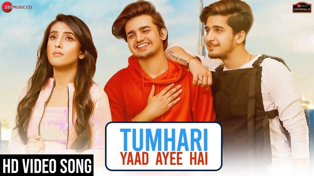 Tumhari Yaad Ayee Hai Bhavin Sameeksha Vishal Palak Muchhal Goldie Amjad Nadeem Zee Music Originals(360p)