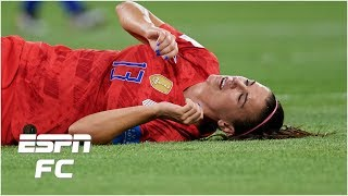 'fifa Is Pathetic' - Taylor Twellman Reacts To Alex Morgan's Alleged Concussion | Golic & Wingo