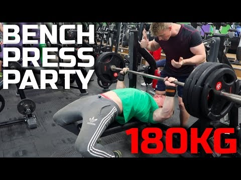 180kg Bench Press Gain 10kg On Your Bench Press In 1 Week