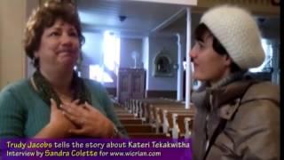 Kateri Tekakwitha, the first indian saint