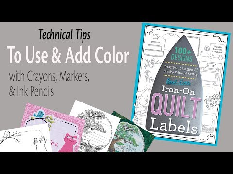 How To Iron On Quilt Labels