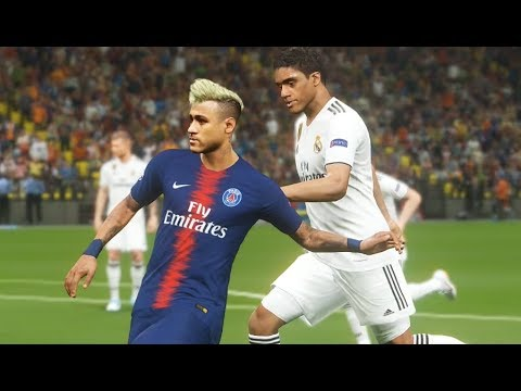 Pc Neymar Vs Real Madrid Gameplay Nouveaux Maillots 2019 Pes