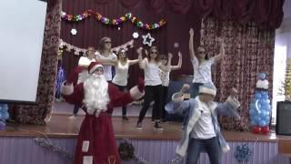 """Танец команды """" Дети Пригариной"""" 10 класса на новогодний  КВН."""