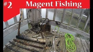 Magnet Fishing - POLICE Maglite! & Alot of Trash