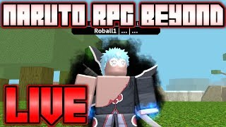 AKATSUKI MEMBER SPINNING FOR RINNEGAN in Naruto RPG: Beyond!! | Roblox Live Stream #117