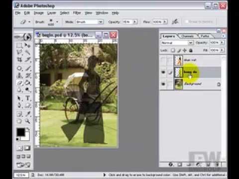 Lớp photoshop-Tạo bóng đổ photoshop http://HocPhotoshop.Com