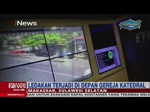 Derik-detik Ledakan Bom Bunuh Diri Di Depan Gereja Katedral Makassar - Breaking INews 28/03
