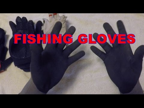 Fishing Gloves - MaxiFlex, Cabelas, Stormr