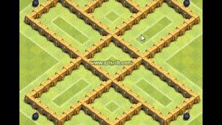 melhor layout para centro de vila nivel 5 e melhor tbm para o seu bouço