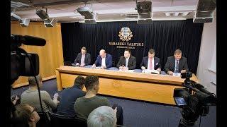 Valitsuse pressikonverents, 21. november 2019