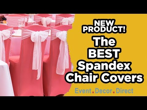 The Best Spandex Chair Cover | Event Decor Direct