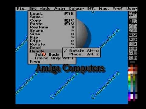 Amiga - Deluxe Paint 5 Halfbright Animation