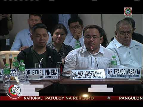 Ilang senador, Mocha Uson, at 'Thinking Pinoy', nagkainitan sa isyu ng fake news
