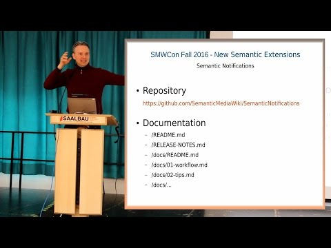 Overview & Introduction to New Semantic Extensions - Karsten Hoffmeyer, WikiHoster.net