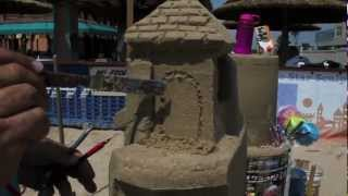 Sand Castle Snippets: How To Carve A Door #2