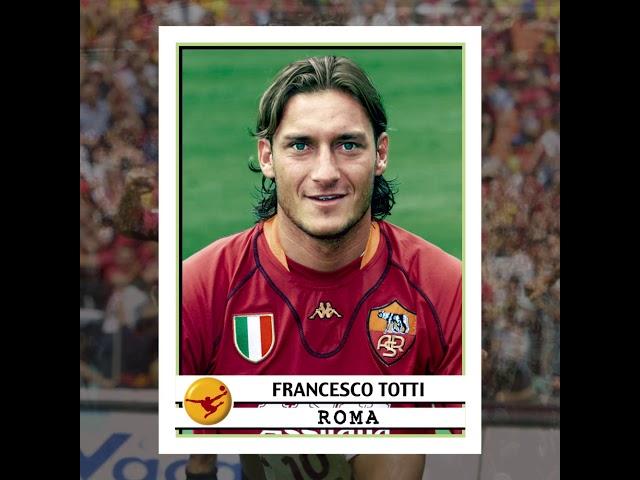 Panini Celebration: Buon Compleanno Francesco Totti