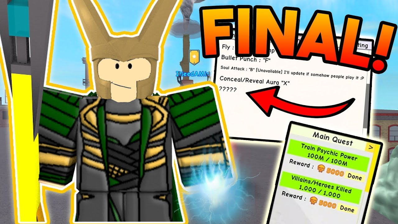 UNLOCKING THE FINAL SKILL! | ROBLOX: Super Power Training Simulator