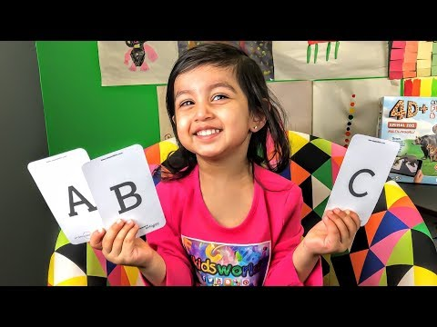 Learn Alphabet Letters & Animals using 4D | Video for Kids.