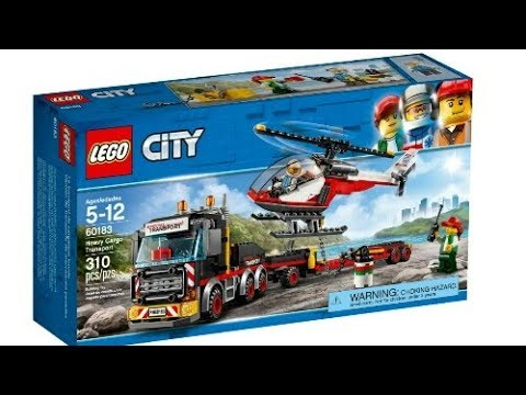 lego news lego city winter 2018 sets official images. Black Bedroom Furniture Sets. Home Design Ideas