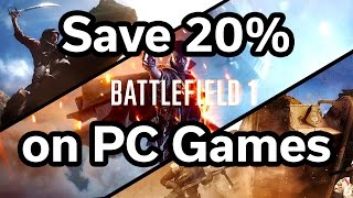 Save 20% on PC Games - Battlefield 1 - FIFA 17 - WoW - Doom - GTA V