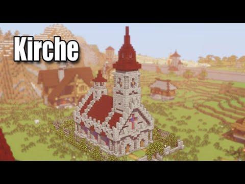 Minecraft Kirche Bauen   Minecraft Kleine Kirche Bauen   Minecraft Schöne Kirche Bauen   Tutorial